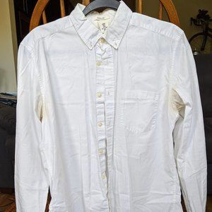 H&M (LOGG) White Longsleeve Button-down